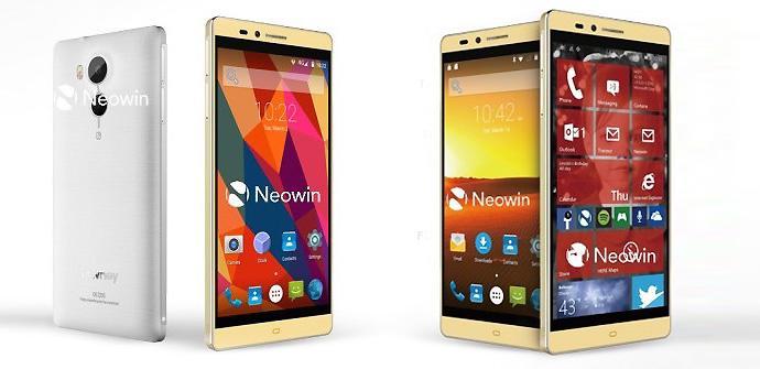 Nuevo Elephone dual boot Android y Windows 10.