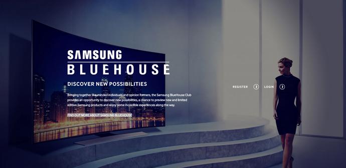 samsung bluehouse