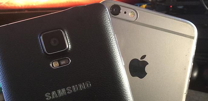 Samsung vs Apple.