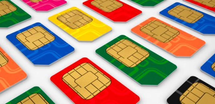 Tarifas móviles y tarjetas SIM.
