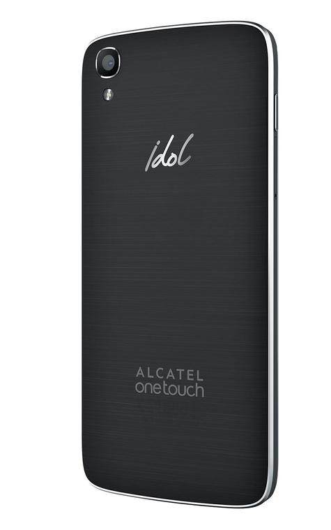 Alcatel One Touch Idol 3 con pantalla de 4.7 pulgadas carcasa trasera