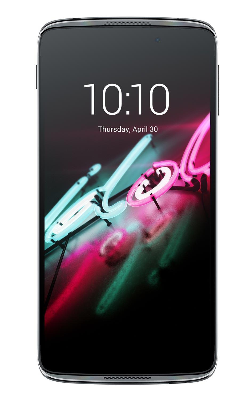 Alcatel One Touch Idol 3 con pantalla de 5.5 pulgadas visión frontal