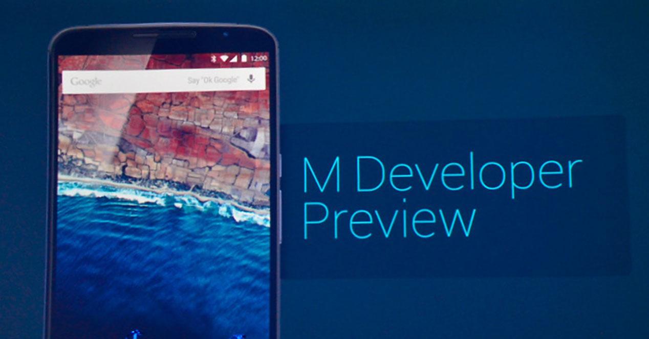 Android M version de prueba