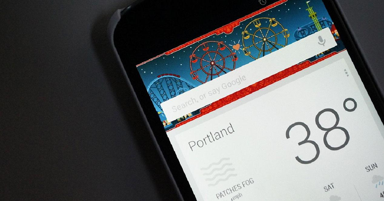 Google Now en smartphone Android