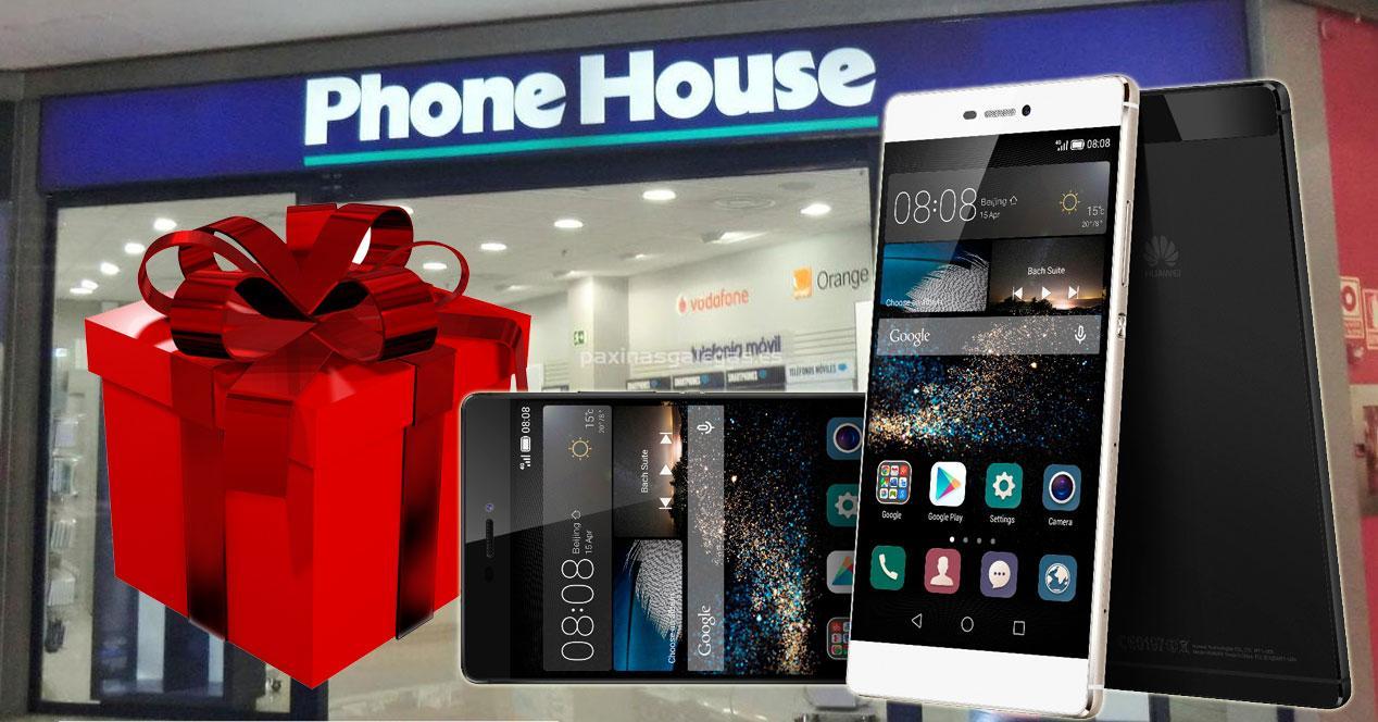 Huawei P8 phone house