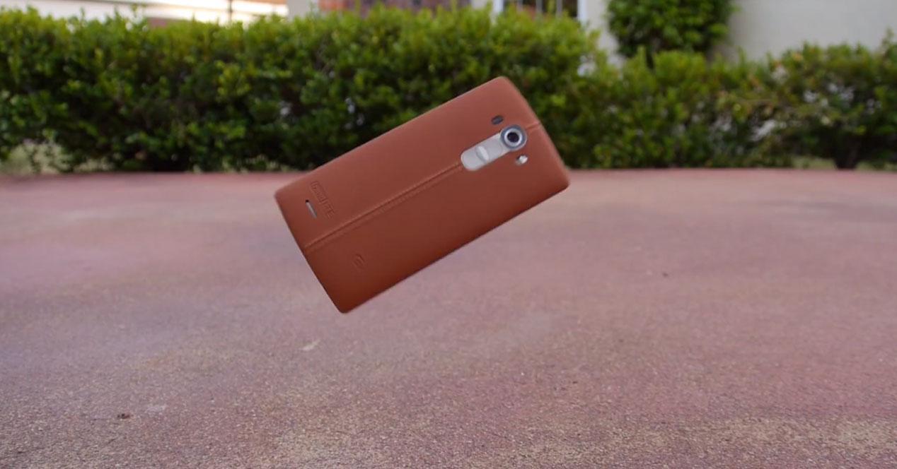LG G4 caída