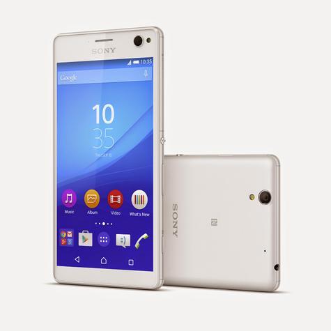 Sony Xperia C4 en color blanco