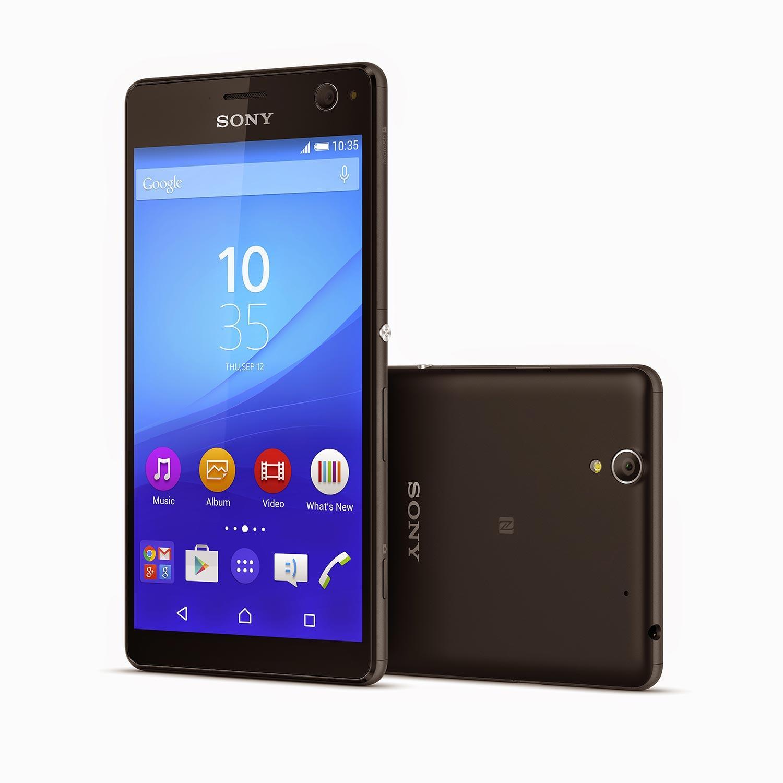 Sony Xperia C4 en color negro