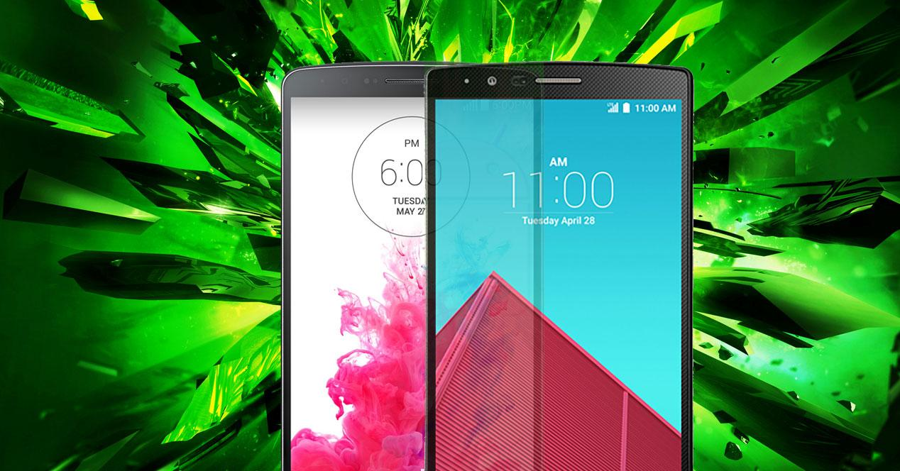 LG G4 LG G3