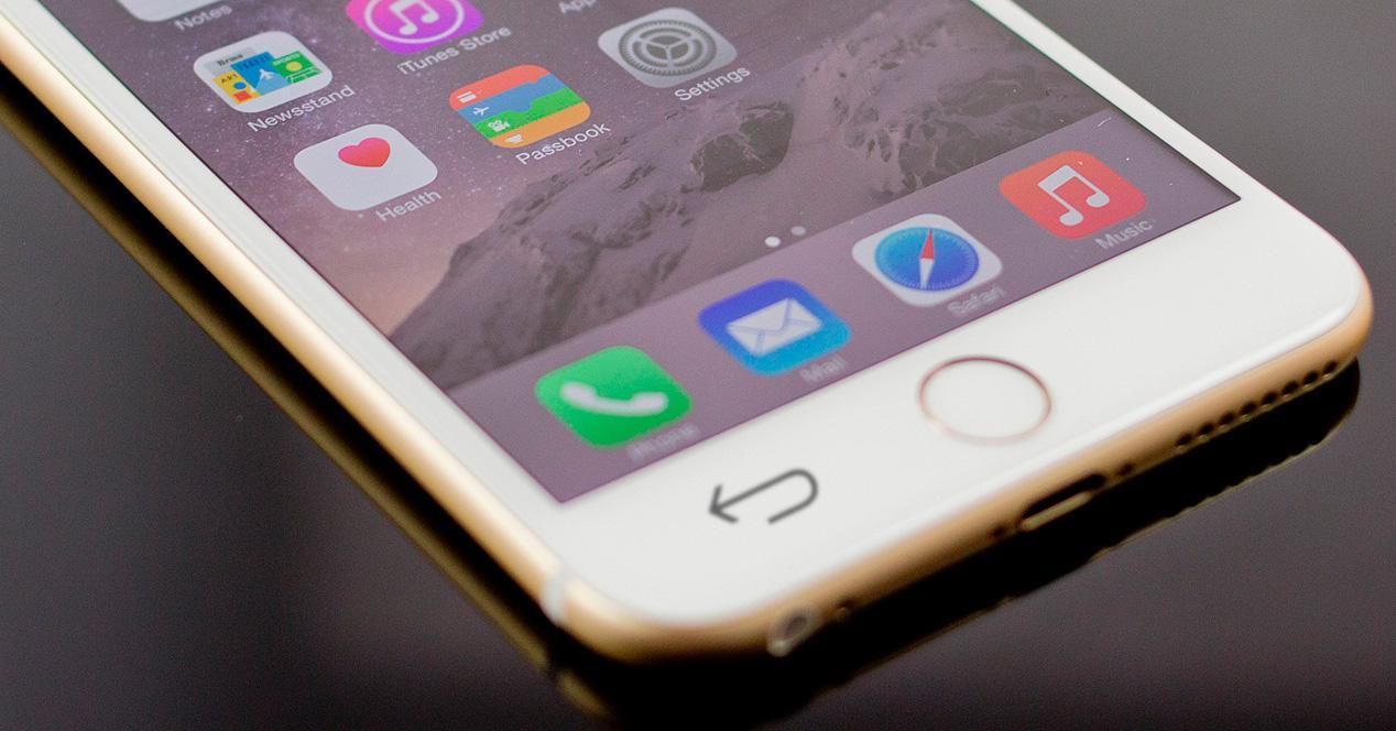 Botón 'VOlver' de Android en tu iPhone.