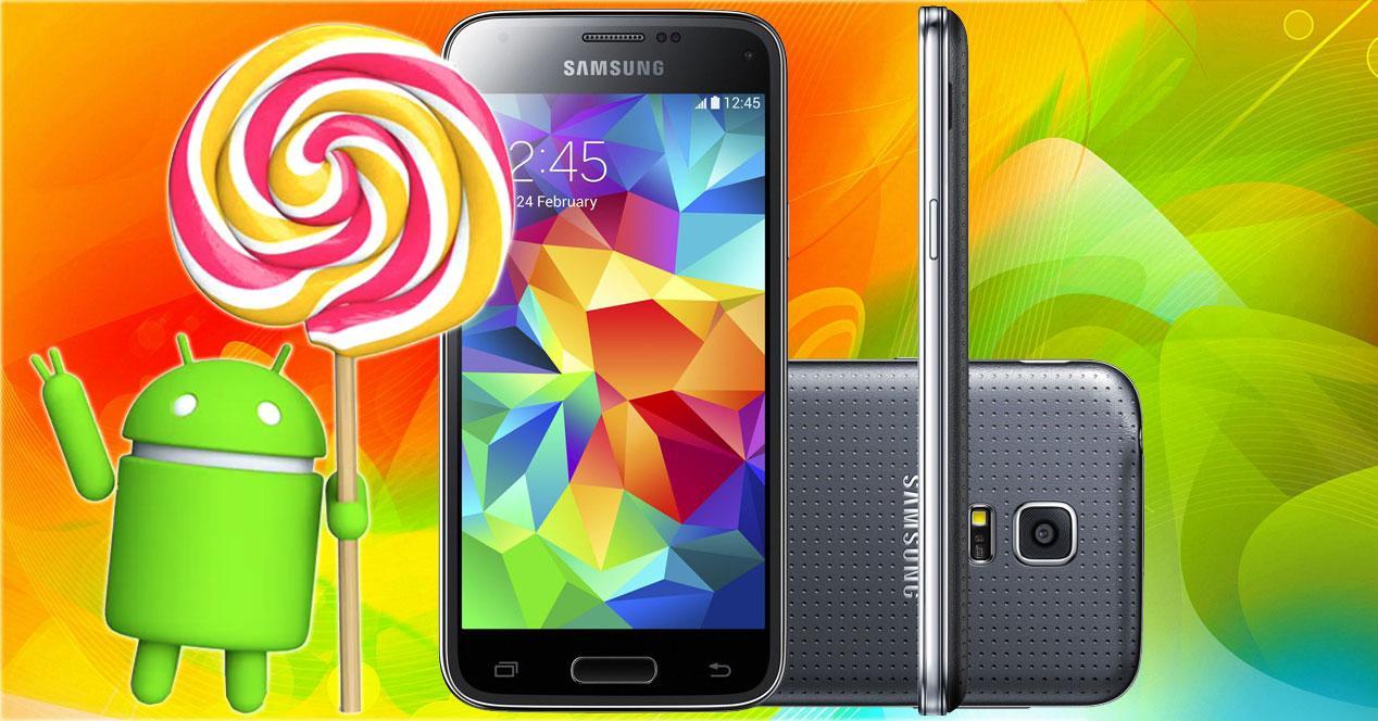 samsung galaxy s5 mini con android lollipop