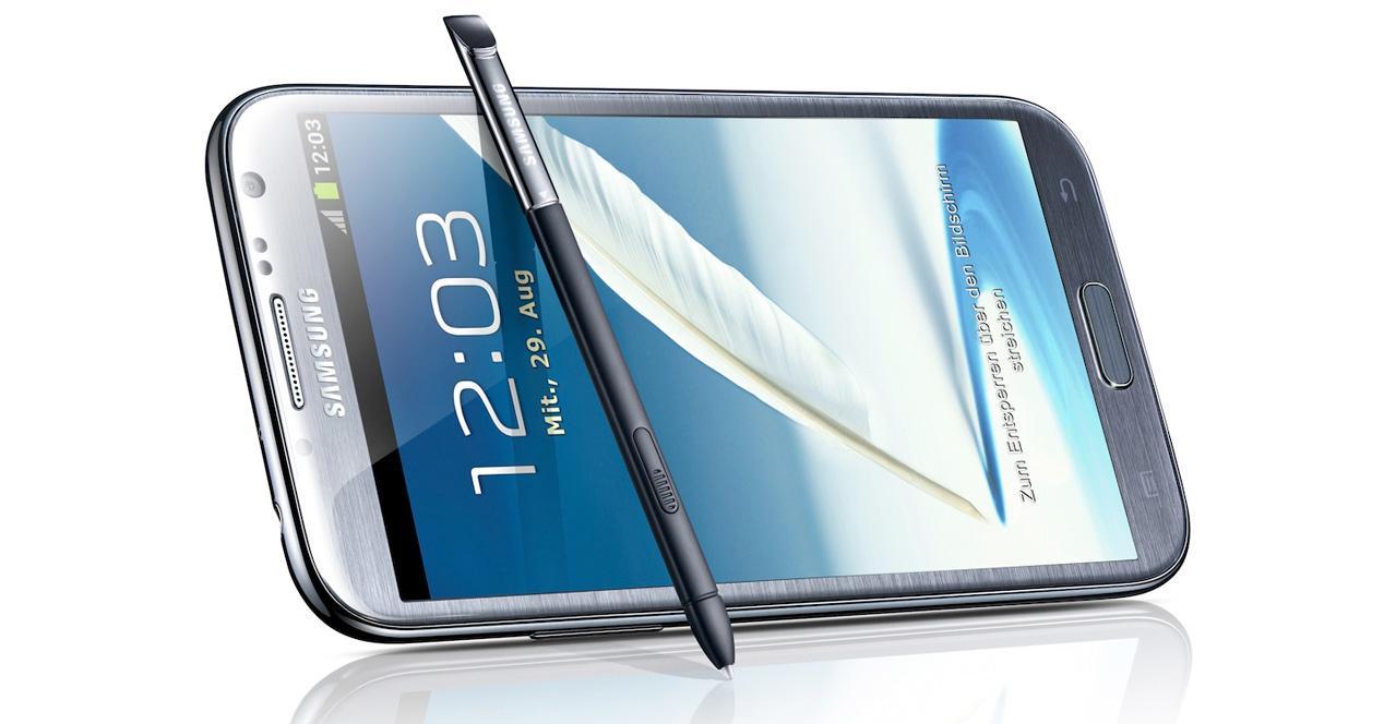 Galaxy Note 2.