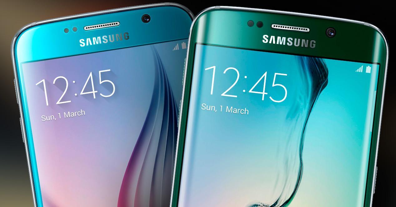 Samsung Galaxy S6 y S6 Edge dos nuevos colores.