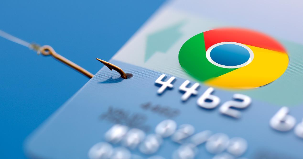 Chrome es vulnerable al phising.