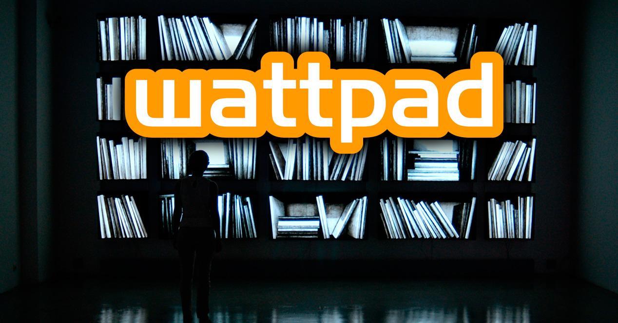 Wattpad, biblioteca de libros gratis.
