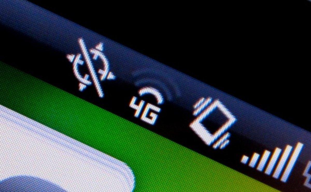 icono cobertura 4G en android