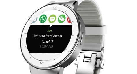 Pantalla del Alcatel Onetouch Watch