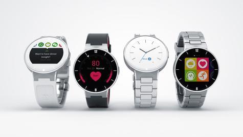 Alcatel Onetouch Watch en diferentes colores