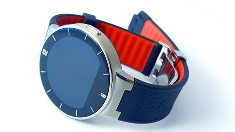 Alcatel Onetouch Watch con correa negra