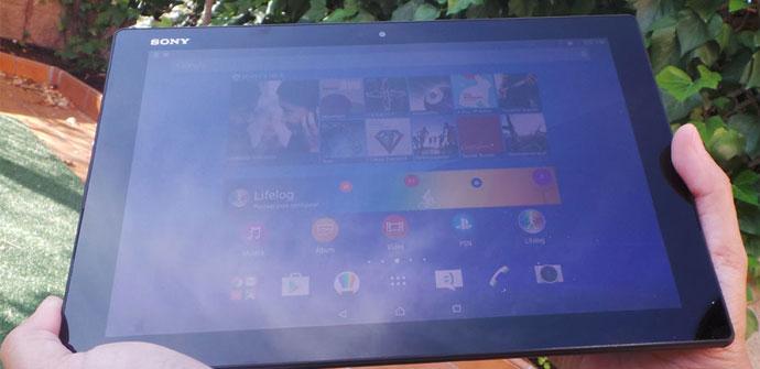 Imagen del Sony Xperia Z4 Tablet