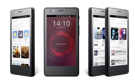 El teléfono móvil BQ Aquaris sons sistema operativo Ubuntu