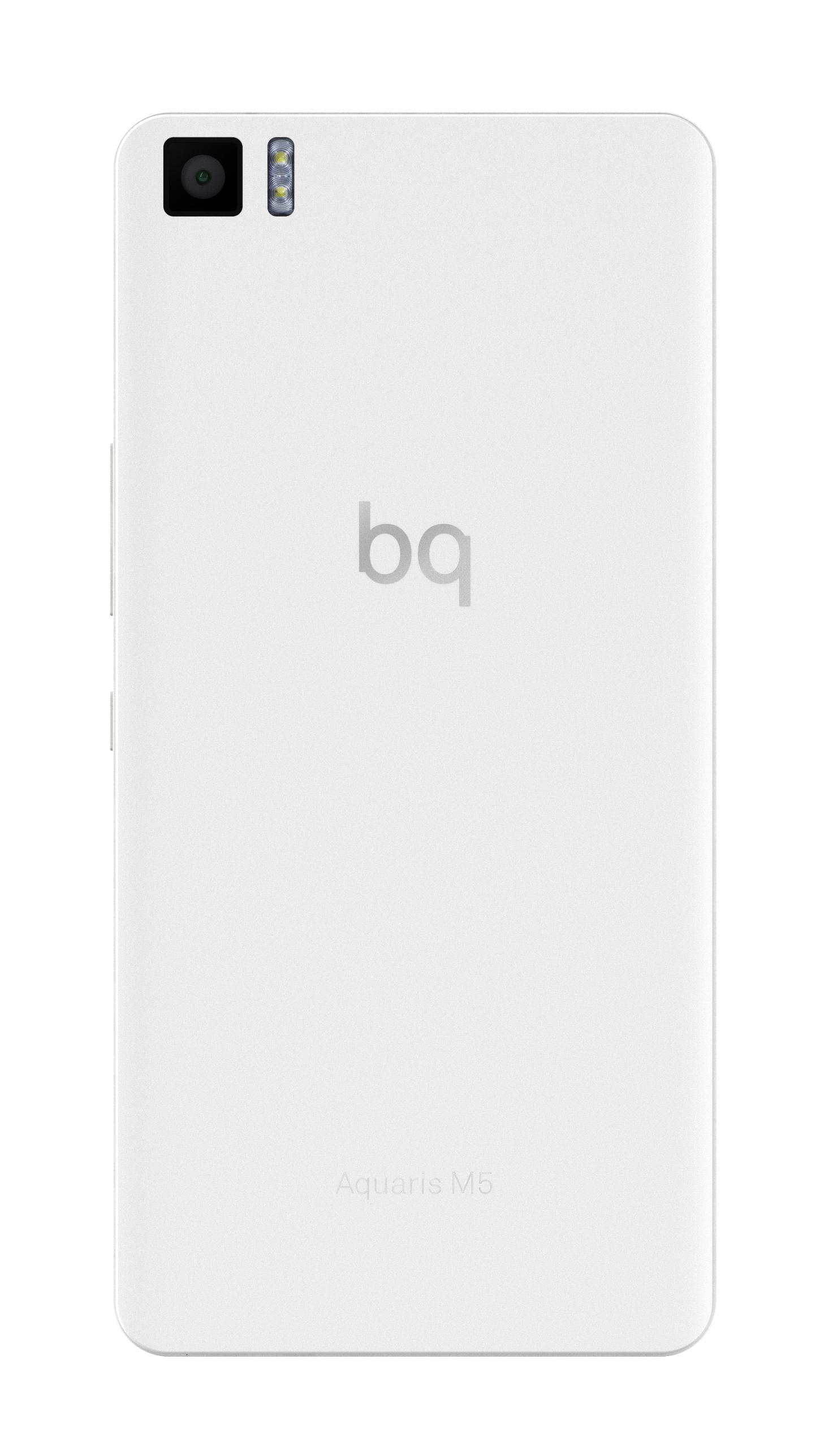 Bq Aquaris M5 en color blanco
