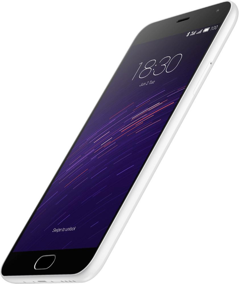 Meizu M2 Note en color blanco