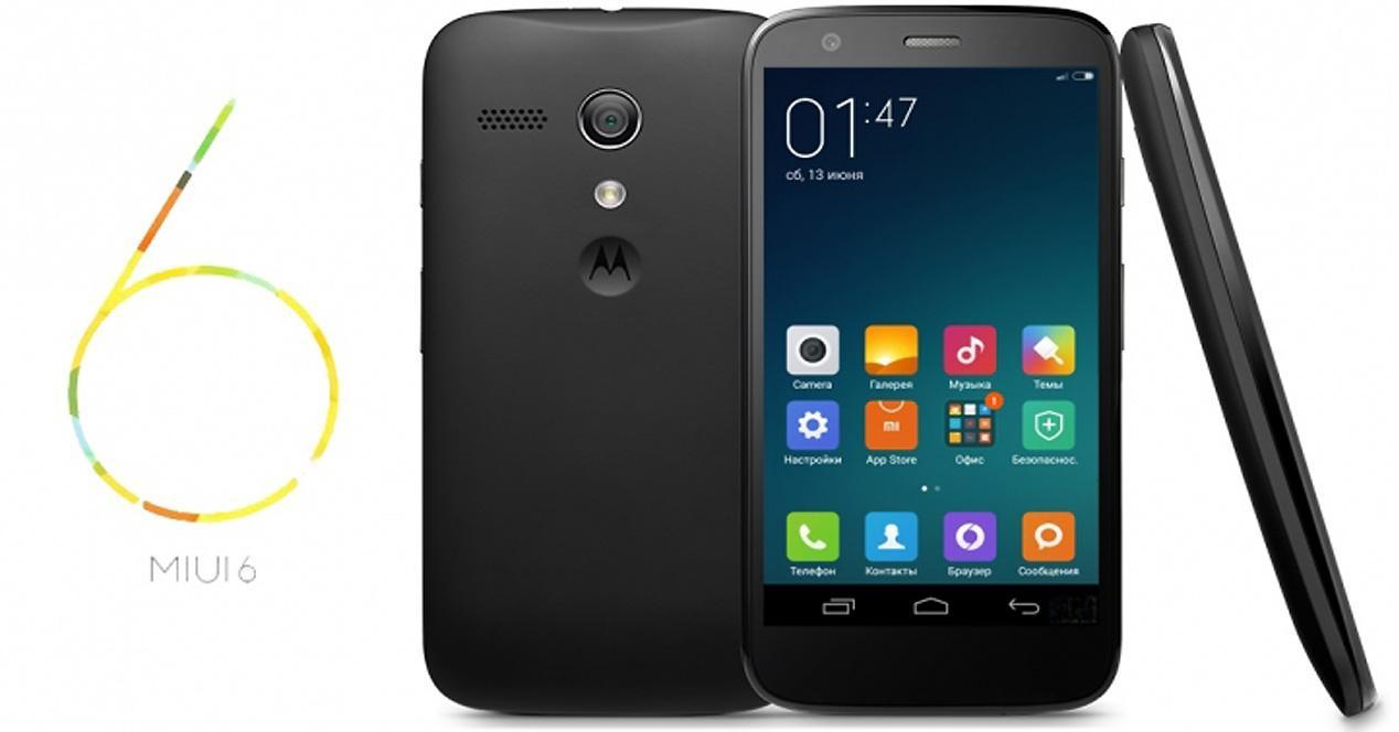 MIUI en Motorola Moto G