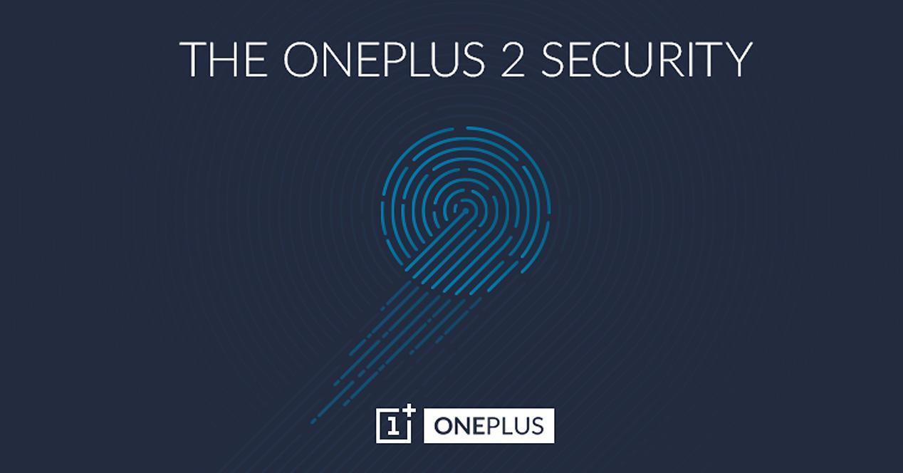 Sensor de huellas del OnePlus 2