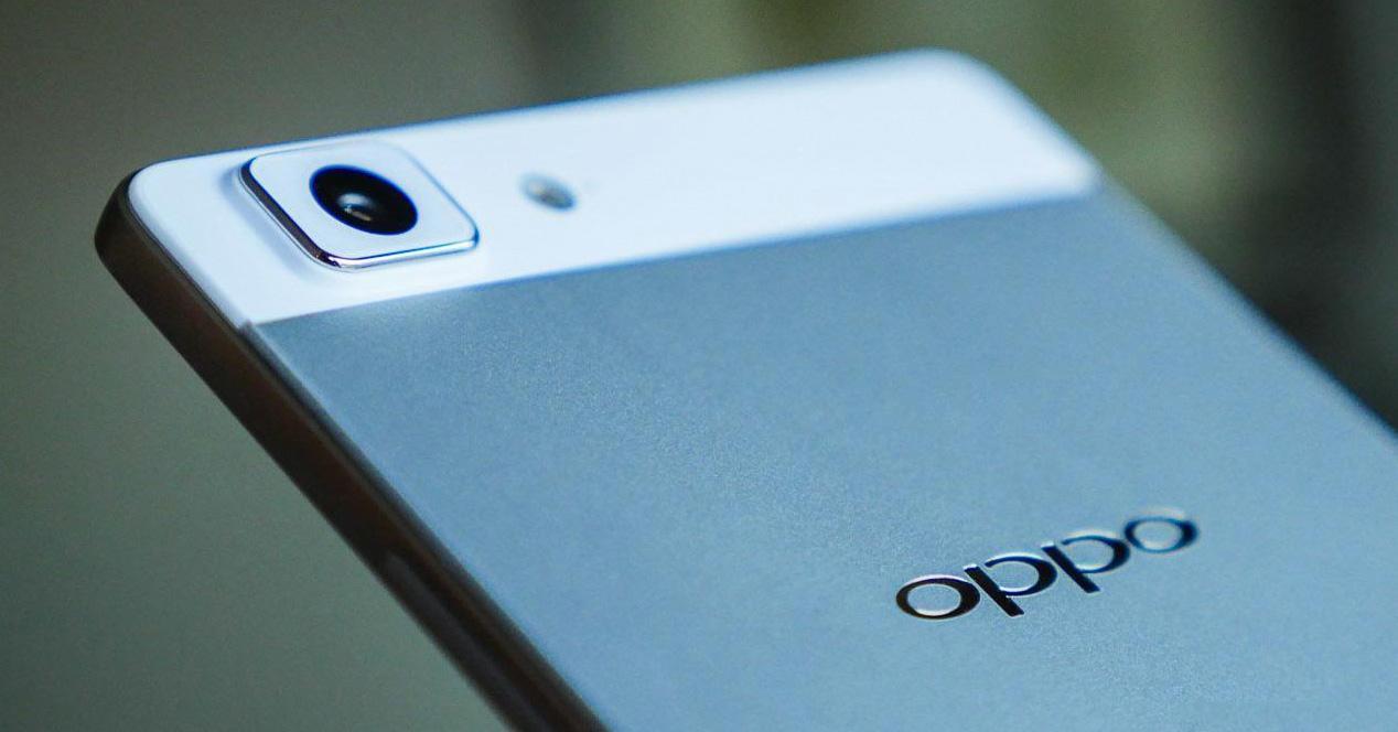 Oppo smartphone.