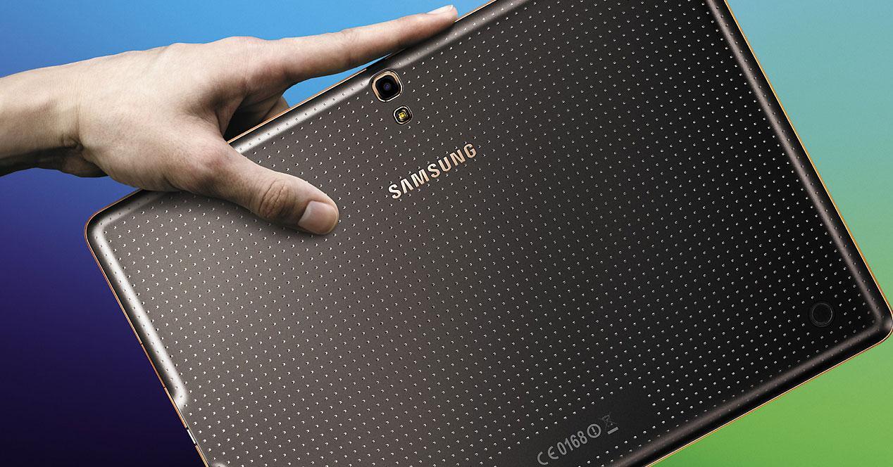 Carcasa trasera de tablet Samsung Galaxy Tab