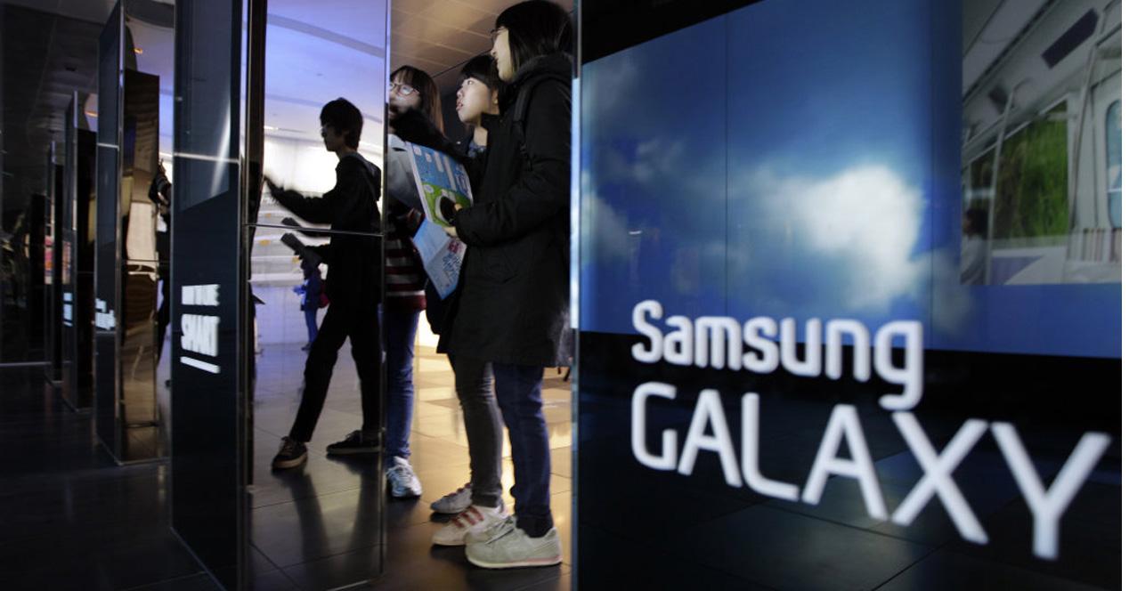 Dispositivo Samsung Galaxy