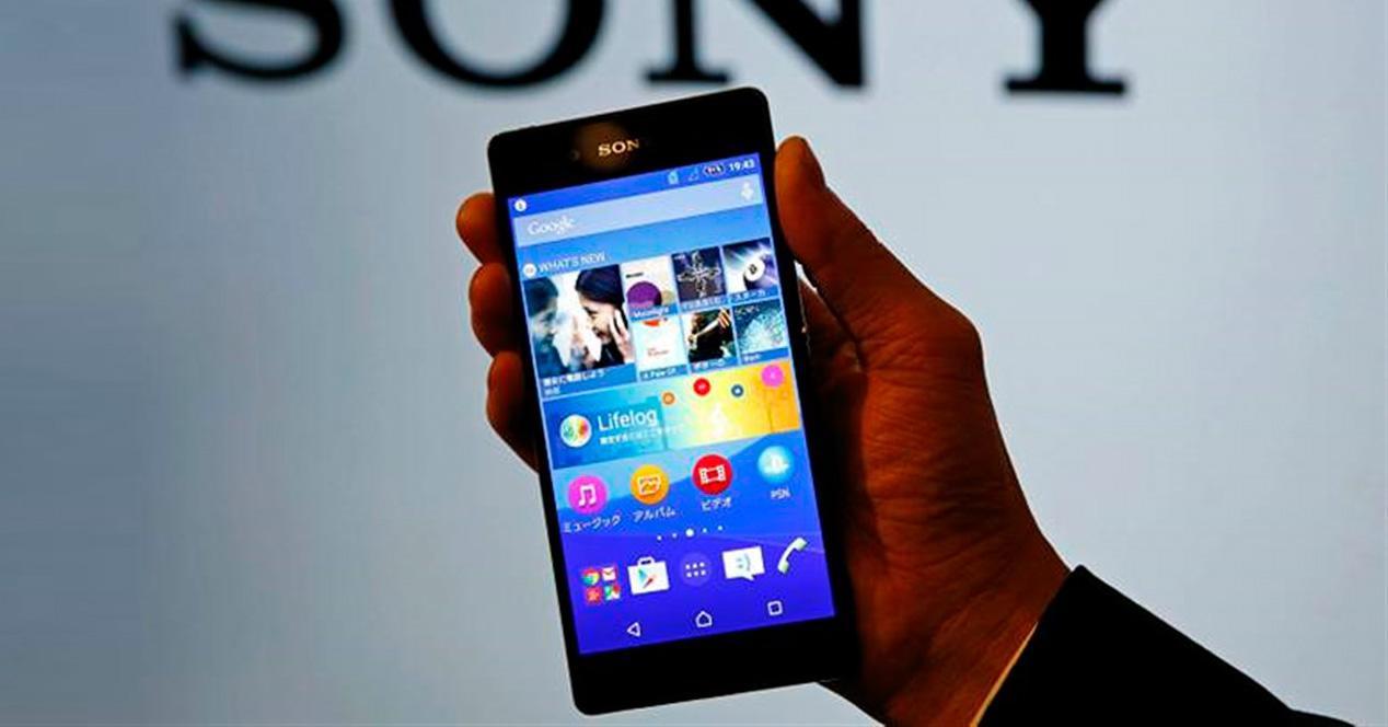 Sony Xperia Z4.