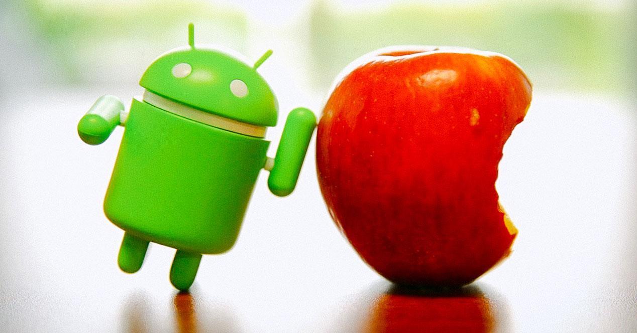 android-manzana