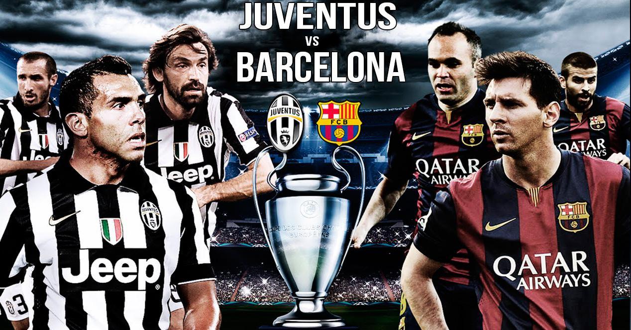 Final de la Champions Barça - Juve.
