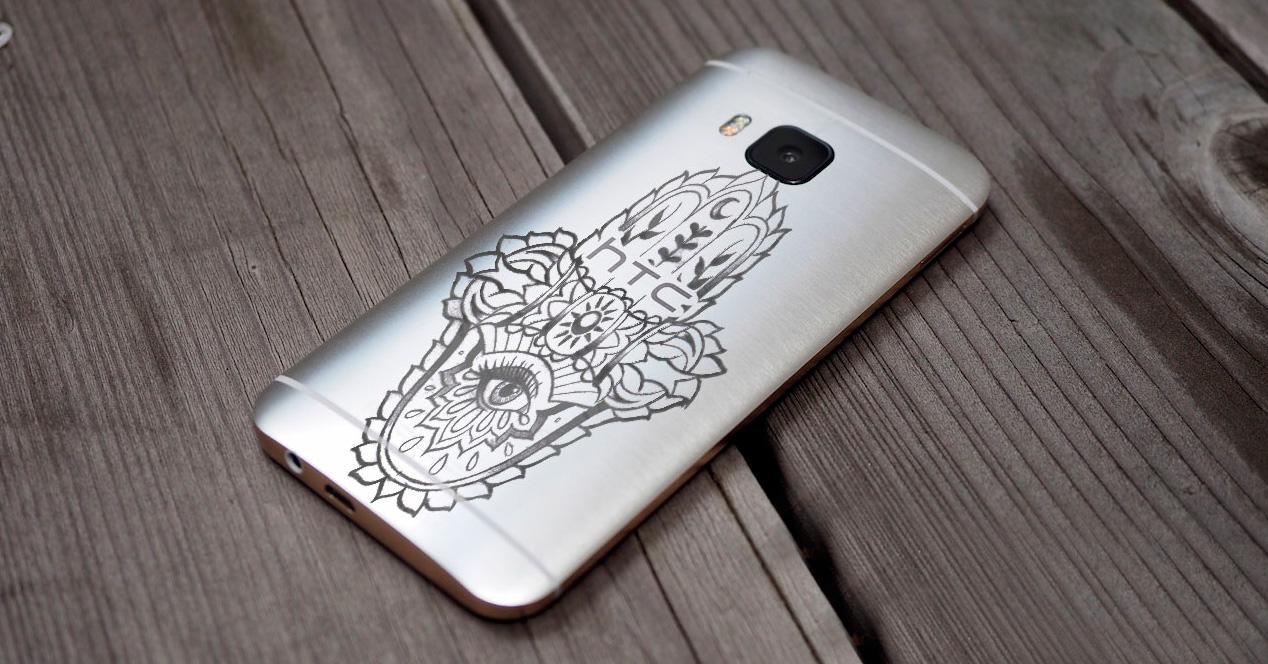 HTC One M9 Jourdan Dunn.