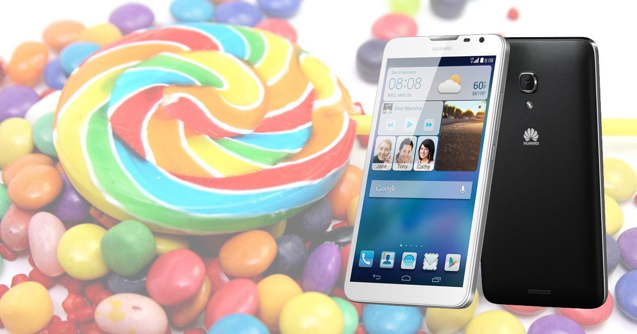 Huawei Ascend Mate 2 Lollipop