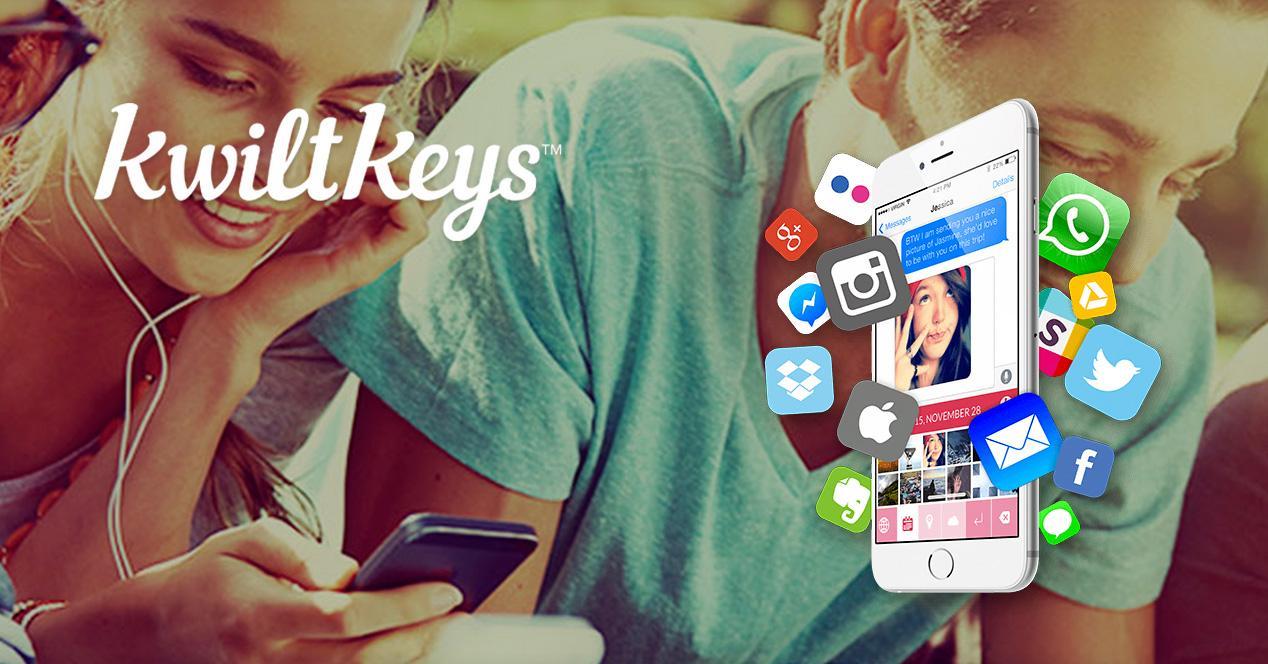 KwiltKeys para iOS.