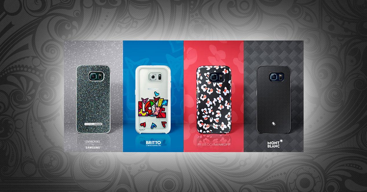 Samsung Galaxy S6 carcasas diseñador