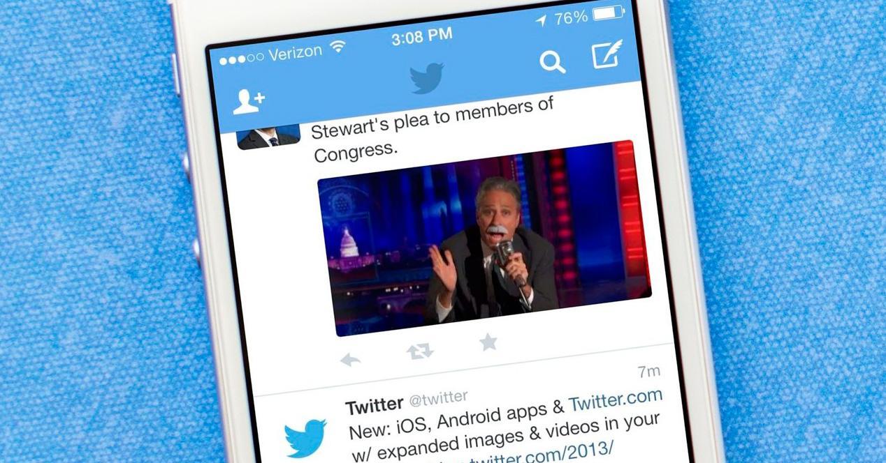 Twitter iOS.