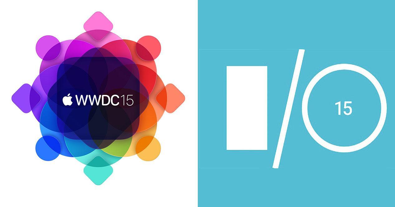 logos wwdc 2015 google io 2015