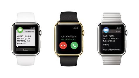 Apple Watch pantallas