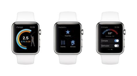 Apple Watch en color blanco
