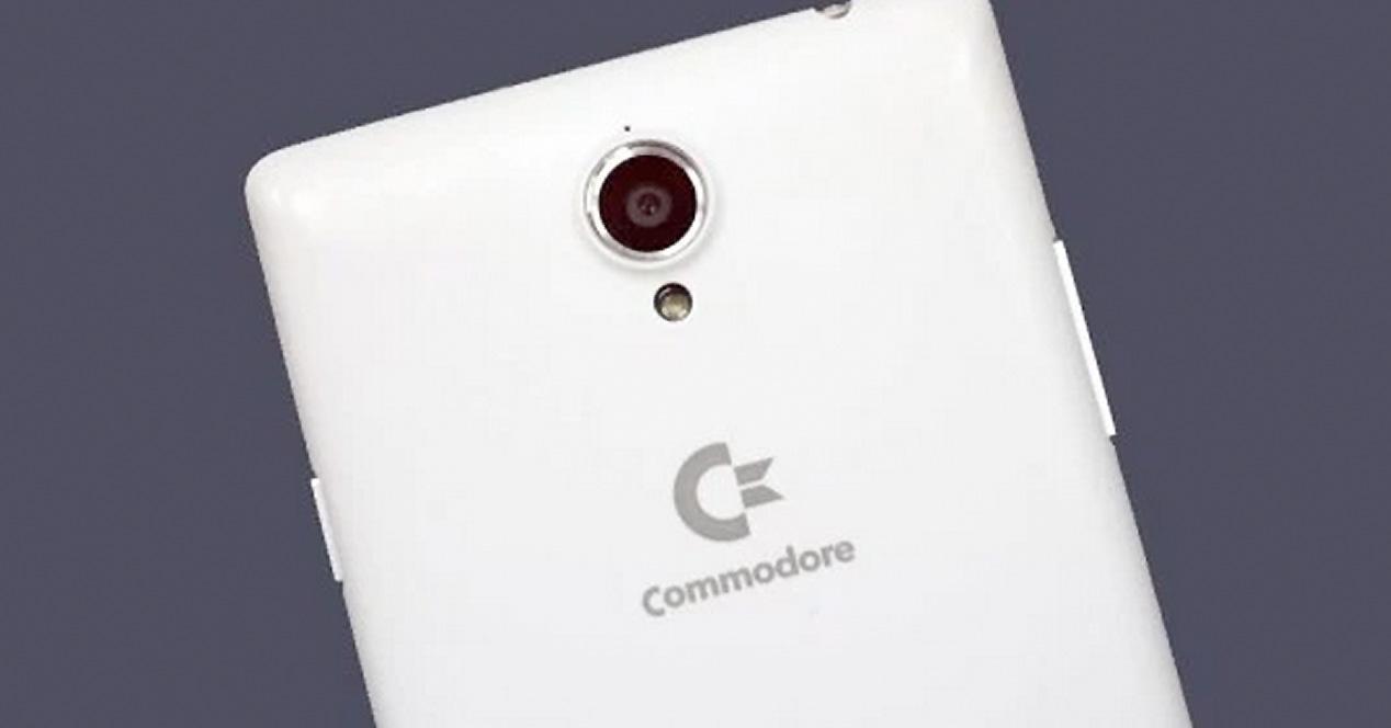 Commodore PET smartphone.