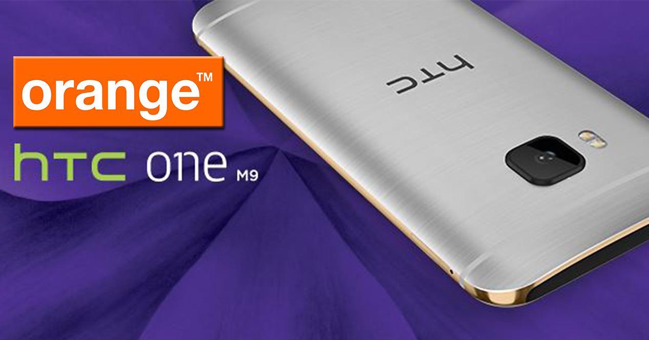 HTC One M9 con Orange