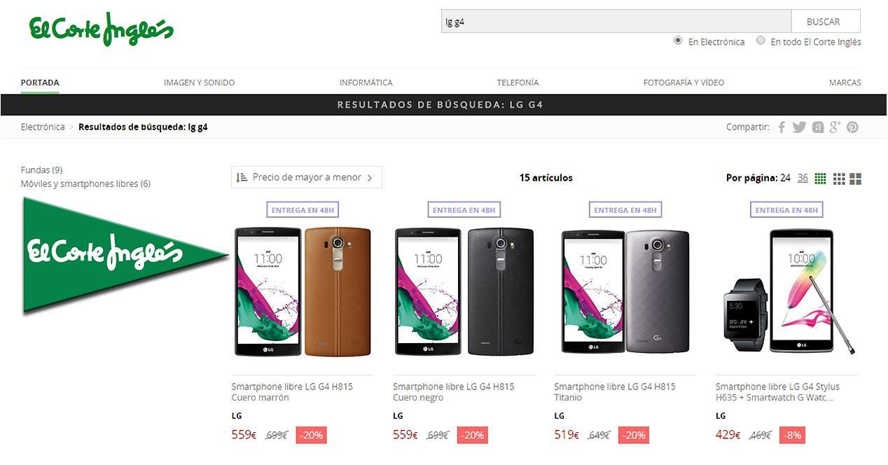 Oferta del LG G4