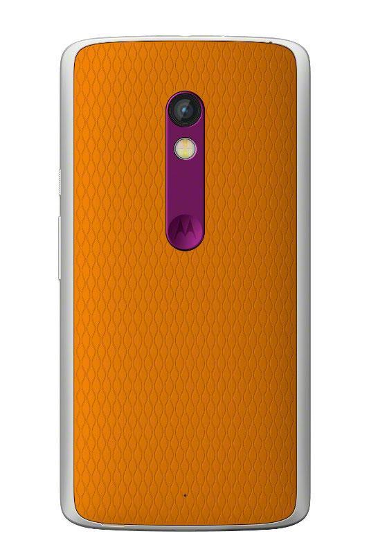 Motorola Moto X Play en color naranja