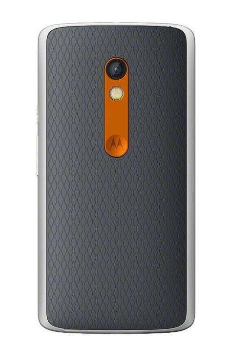 Motorola Moto X Play trasera y cámara