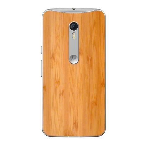 Motorola Moto X Style carcasa de madera