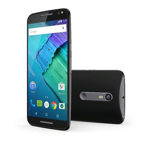 Motorola Moto X Style frontal y trasera